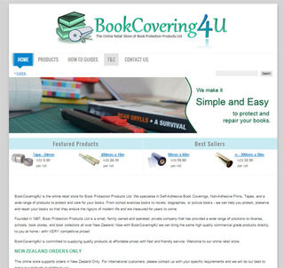 Book Covering 4 U