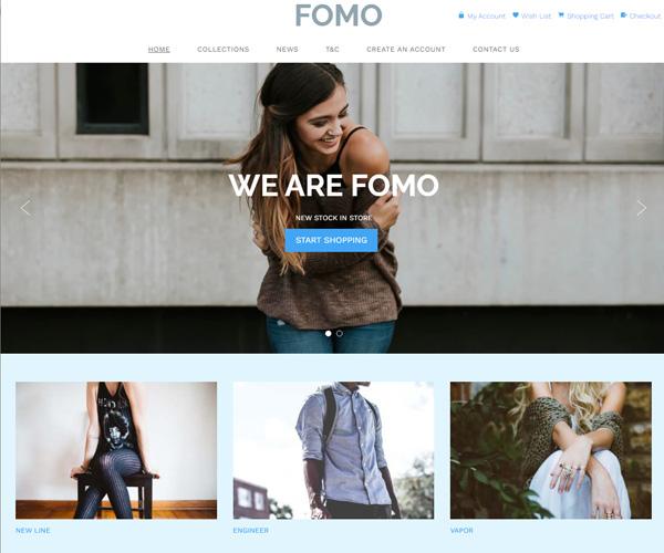 Step 1 of 3) Select a web design template - Free DIY Websites